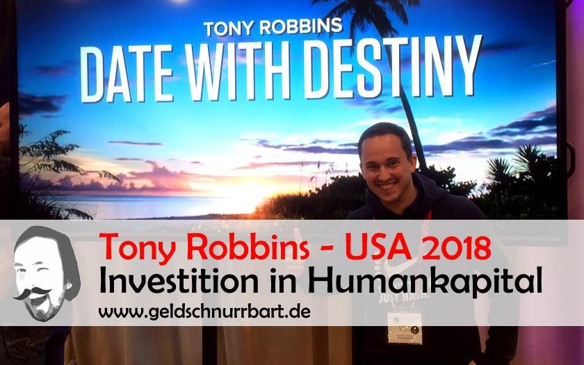 Tony Robbins Event 2018 Florida, USA - Investition in Humankapital