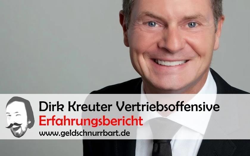 Dirk Kreuter Vertriebsoffensive ERfahrungsbericht