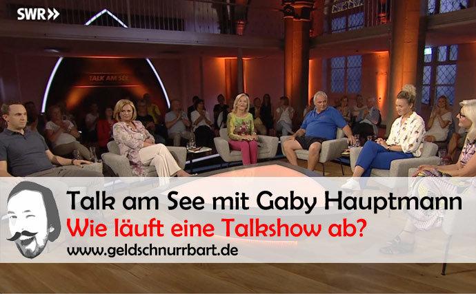 Talk am See mit Gaby Hauptmann