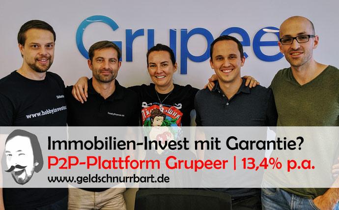 Grupeer P2P - Investitionen - Besuch bei der Plattform in Riga